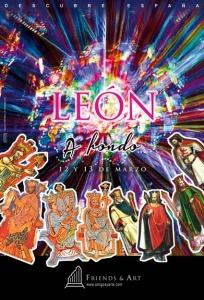 Visita guiada a León y Astorga con amigosyarte Iberia